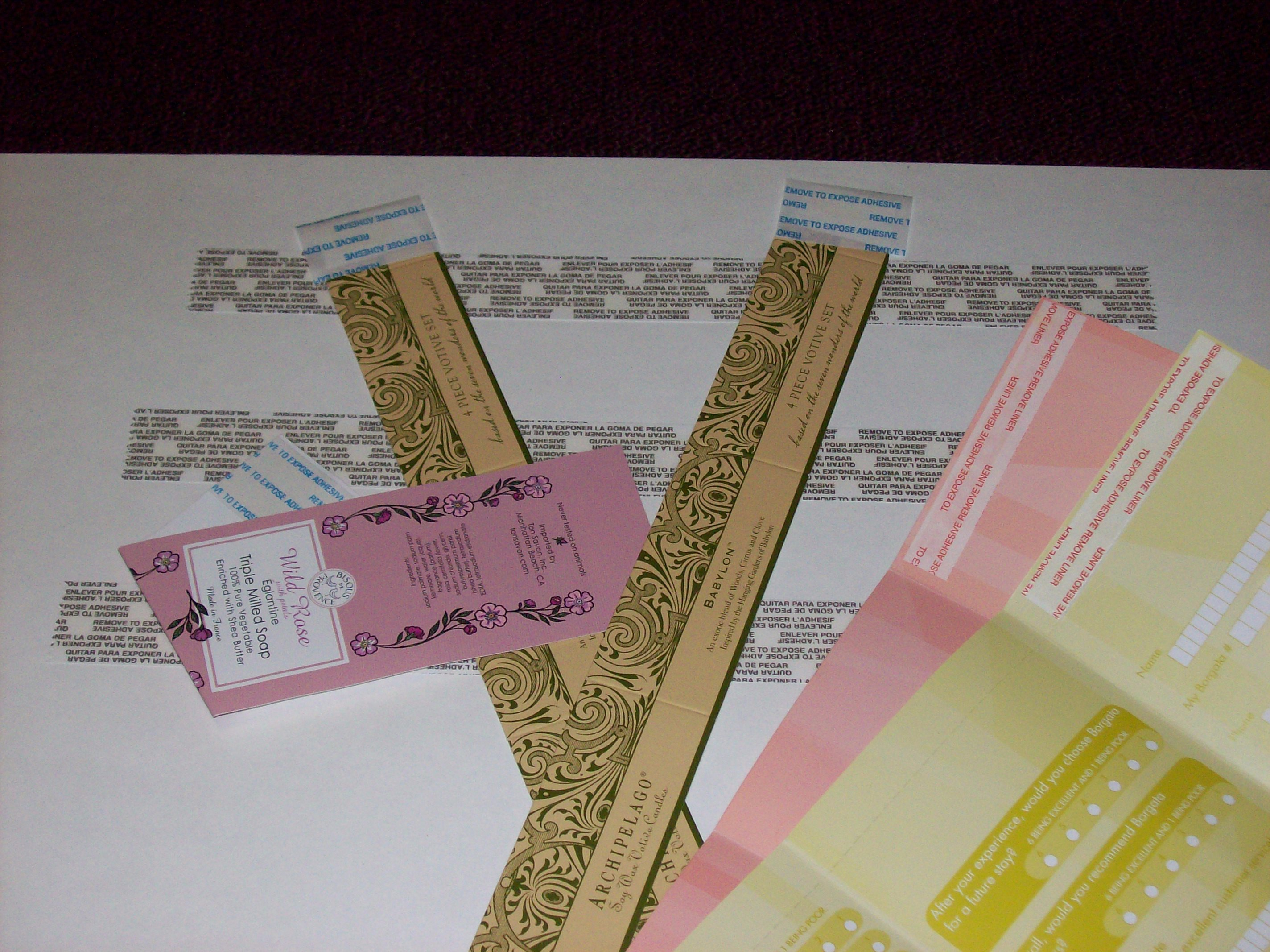 Paper & Envelope Taping Services 4
